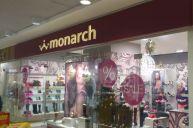 Вывеска из Дибонда для магазина  Монарх