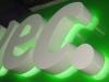 Буквы с контражурной подсветкой