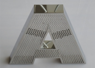 Алюминиевые световые буквы