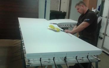 Изготовление крышной установки