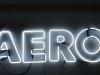 Неоновые буквы Aero