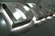 Световые буквы для офиса