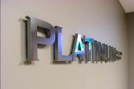 Буквы из нержавеющей стали для оформления офиса