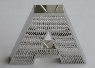Изготовление алюминиевых букв