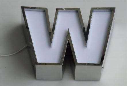 Изготовление металлических букв